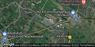 Google Map of Stuhrbaum
