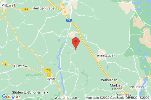 Karte Teetz-Ganz