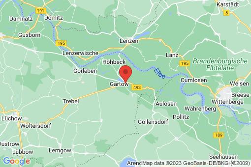 Karte Gartow Quarnstedt