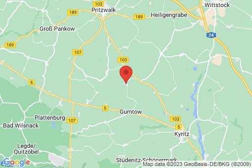Karte Dannenwalde