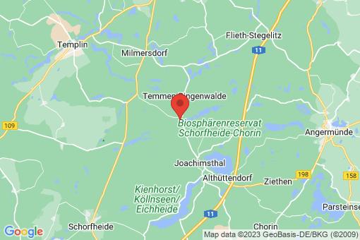 Karte Friedrichswalde