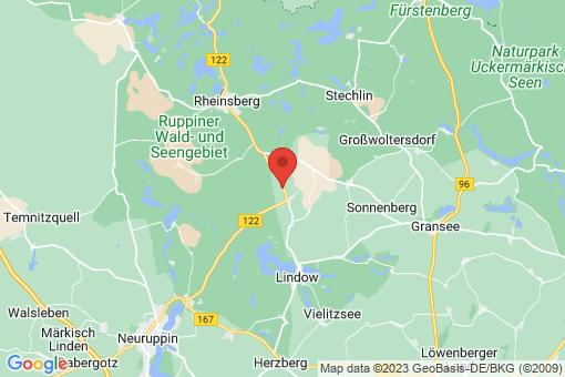 Karte Rheinsberg Dierberg