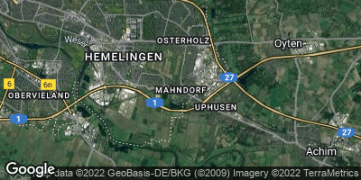 Google Map of Mahndorf