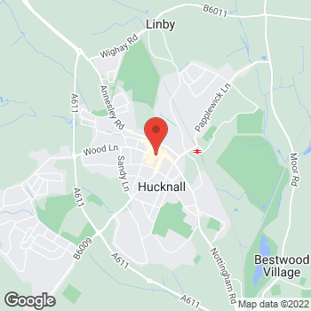 Map of wilko Hucknall Relocation at 1 Central Walk, Hucknall,  NG15 7HG