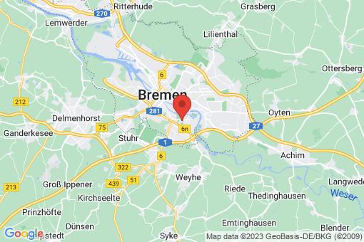 Karte Bremen-Obervieland