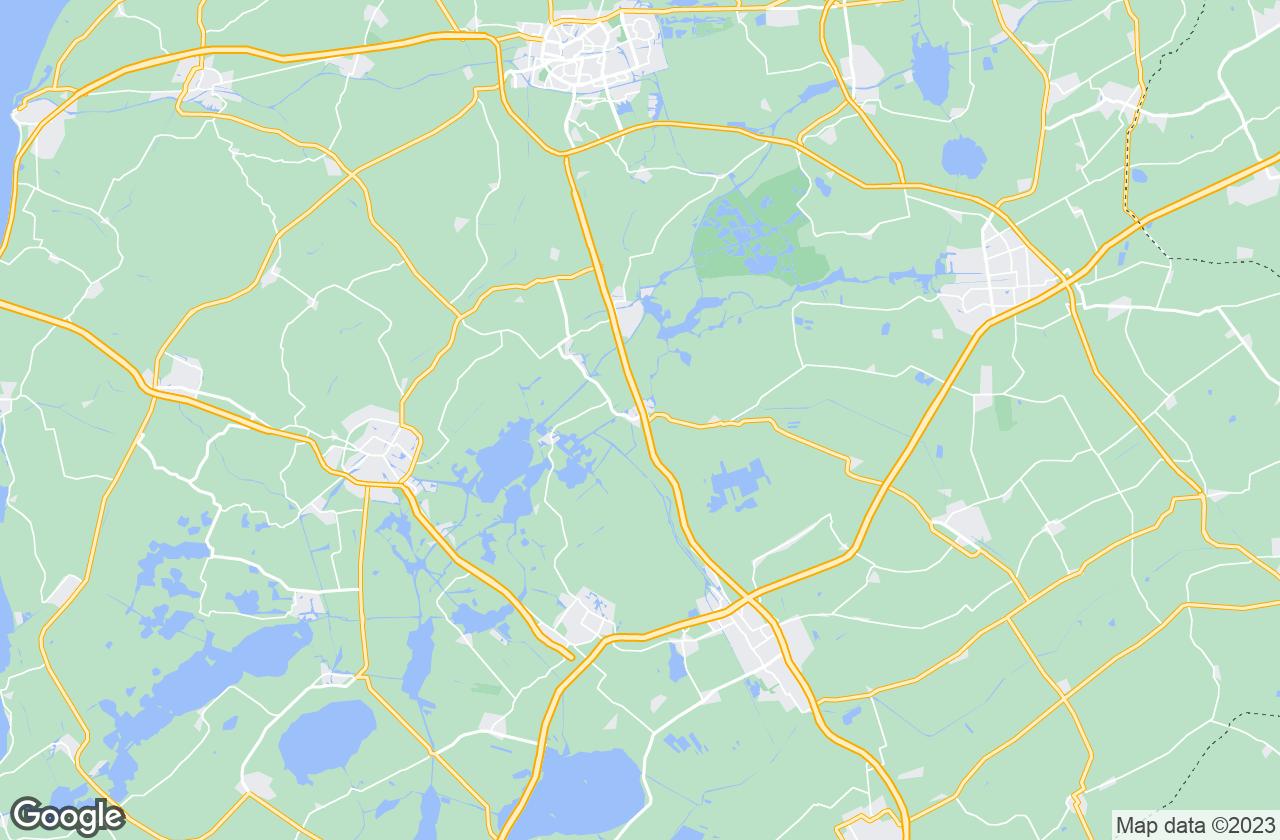 Google Map of Akkrum