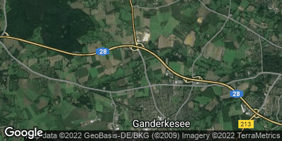 Google Map of Bookhorn