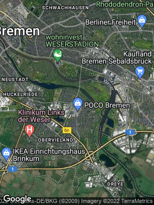 Google Map of Habenhausen