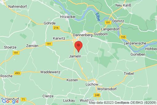 Karte Jameln Breese im Bruche