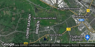Google Map of Mittelshuchting