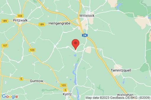 Karte Wittstock/Dosse Königsberg