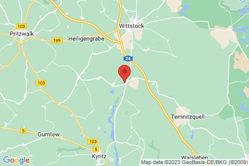 Karte Wittstock/Dosse Herzsprung