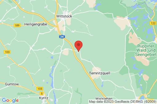 Karte Wittstock/Dosse Fretzdorf