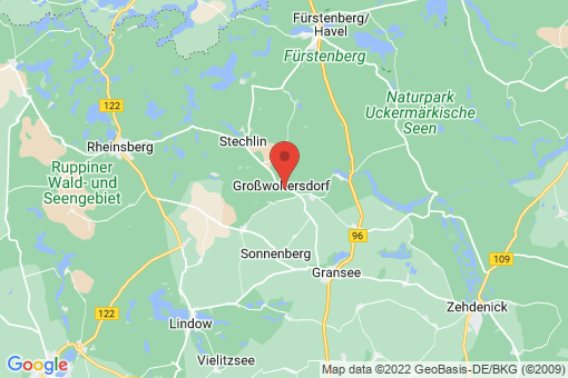 Karte Großwoltersdorf