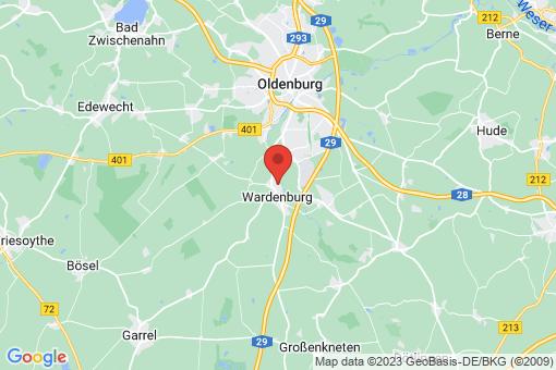 Karte Wardenburg