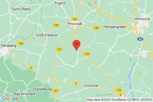 Karte Klein Woltersdorf