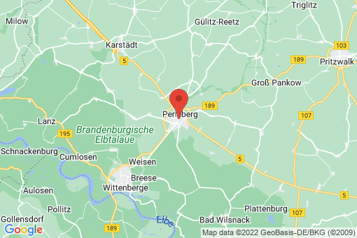 Karte Perleberg