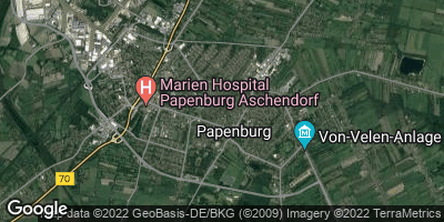 Google Map of Papenburg