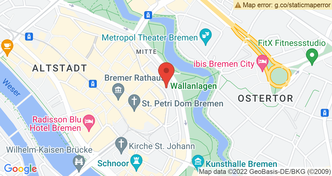 Google Map Unterwegs AG Unterwegs Outlet Bremen