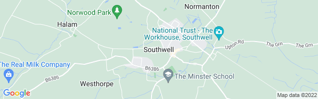 Map Of Southwell