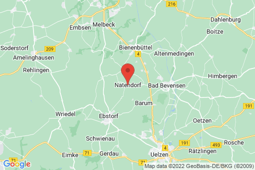 Karte Natendorf