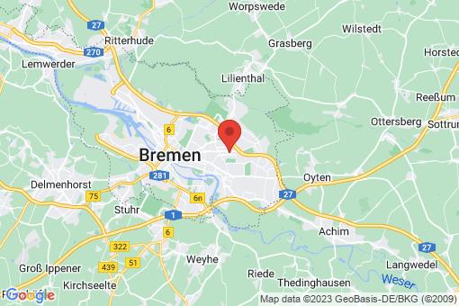 Karte Bremen-Osterholz