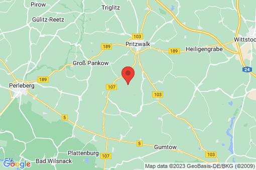Karte Groß Woltersdorf