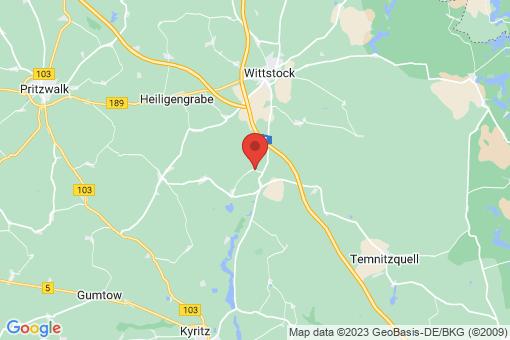 Karte Wittstock/Dosse Christdorf