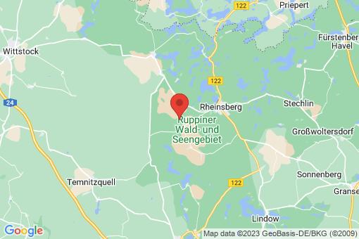 Karte Rheinsberg Zühlen