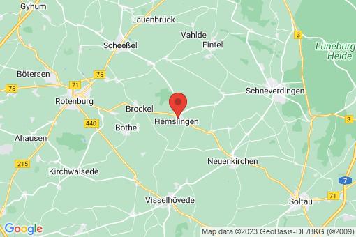 Karte Hemslingen