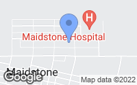 Map of Maidstone, SK