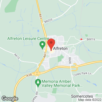 Map of wilko Alfreton at 13 Institute Lane, Alfreton,  DE55 7BQ