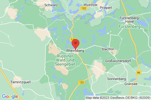 Karte Rheinsberg