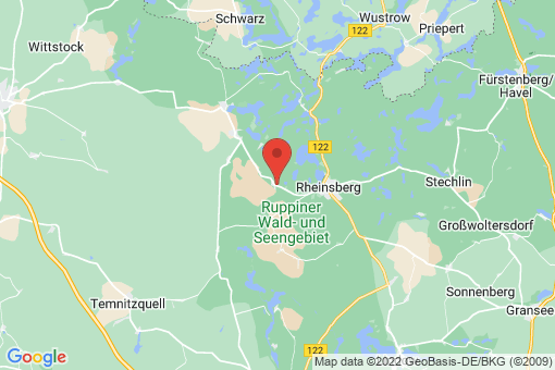 Karte Rheinsberg Linow