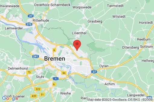 Karte Bremen-Oberneuland