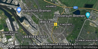 Google Map of Osterfeuerberg