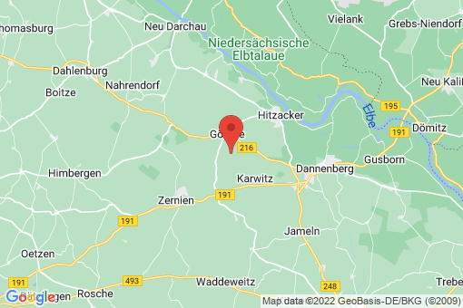 Karte Göhrde Schmardau