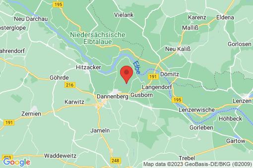 Karte Dannenberg (Elbe) Seedorf