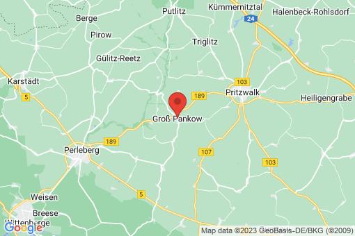 Karte Groß Pankow