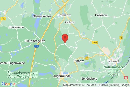 Karte Biesenbrow
