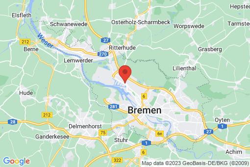 Karte Bremen-Gröpelingen