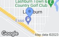 Map of Lashburn, SK