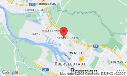 Arbeitsort: Bremen, Bremerhaven, Bremervörde, Cuxhaven, Oldenburg, Wilhelmshaven, Emden, Leer (Ostfriesland), Cloppenburg, Vechta, Meppen, Papenburg, Lingen (Ems), Walsrode, Soltau, Nienburg (Weser), Hannover, Münster, Bielefeld, Osnabrück