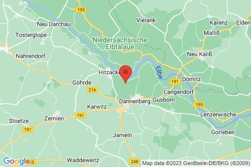 Karte Hitzacker Grabau
