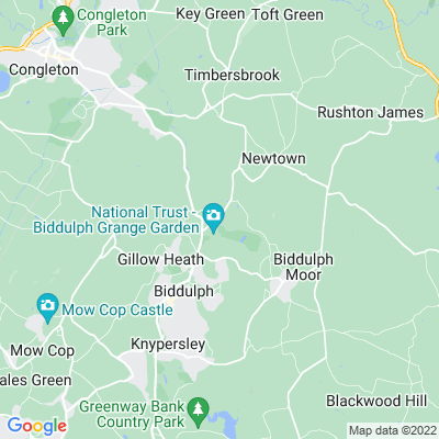 Biddulph Grange Location