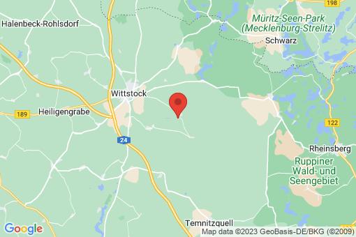 Karte Wittstock/Dosse Zootzen