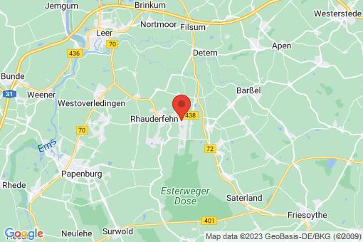 Karte Ostrhauderfehn