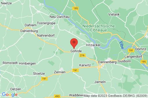 Karte Göhrde Bredenbock