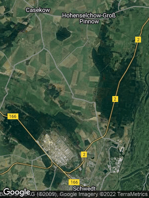 Google Map of Kunow bei Angermünde