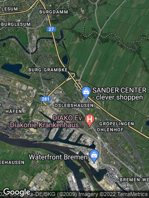 Google Map of Oslebshausen